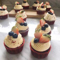 คัพเค้ก เรดเวลเวท cupcake st1