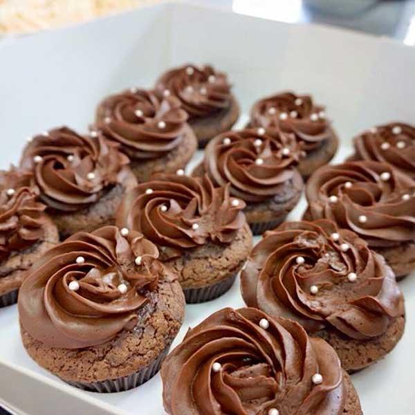 เค้กวันเกิด คัพเค้กช็อกโกแลตกานาซ สินค้า 1