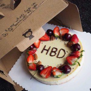 เค้กวันเกิด Classic ชีสเค้ก 2 สินค้า 1