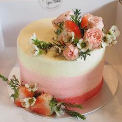 เค้กวันเกิด เค้กเรดเวลเวท 2ปอนด์ รูป1