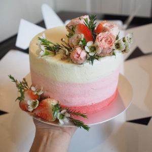 เค้กวันเกิด เค้กเรดเวลเวท 2ปอนด์ รูป2