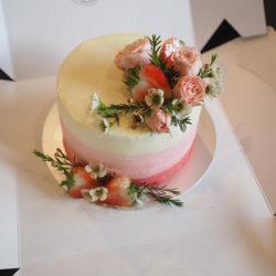 เค้กวันเกิด เค้กเรดเวลเวท 2ปอนด์ รูป3