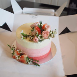 เค้กวันเกิด เค้กเรดเวลเวท 2ปอนด์ รูป4